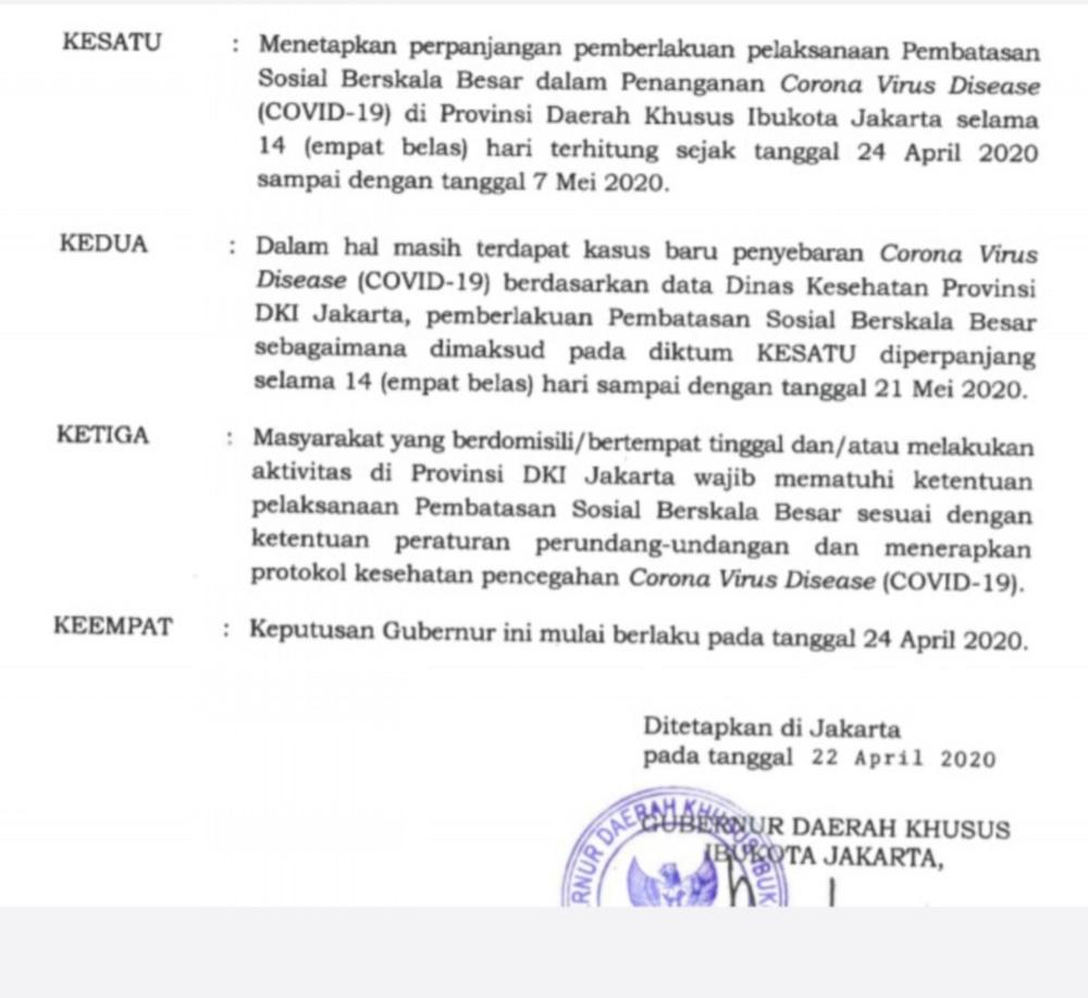 HOAKS Anies Perpanjang PSBB di Jakarta Hingga 18 Juni 5