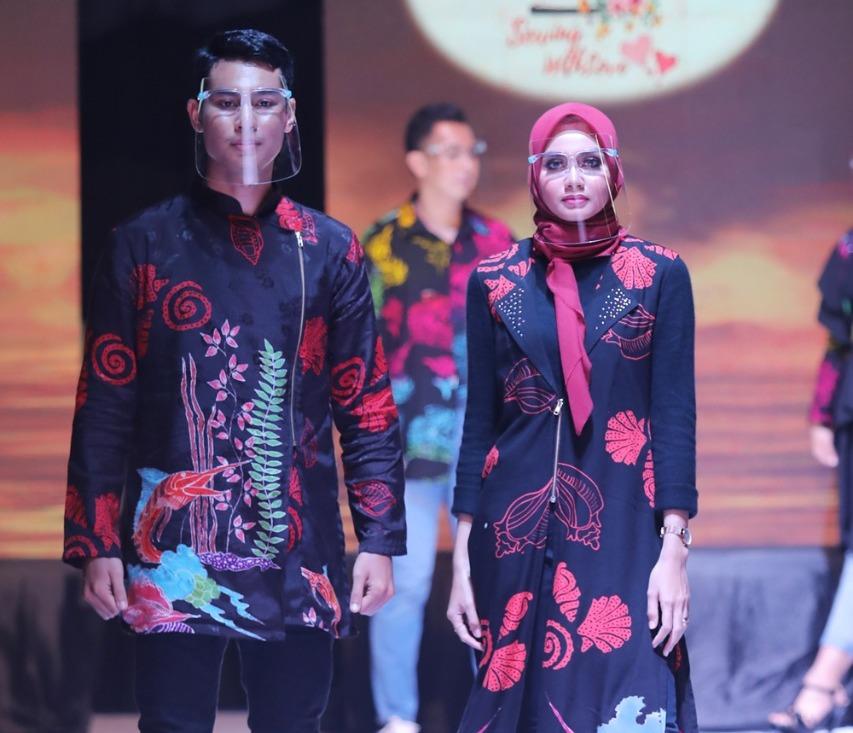Gandeng Kaum Ibu Dan Milenial, Marlin Perkenalkan Batik Batam