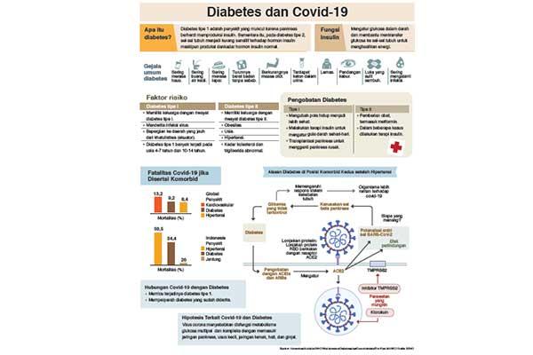 Sumber: Kemenkes/Alodokter/WHO/Worldometers/Diabetesatlas/Ourwolrdindata/Tim Riset MI-NRC/ Grafis: SENO
