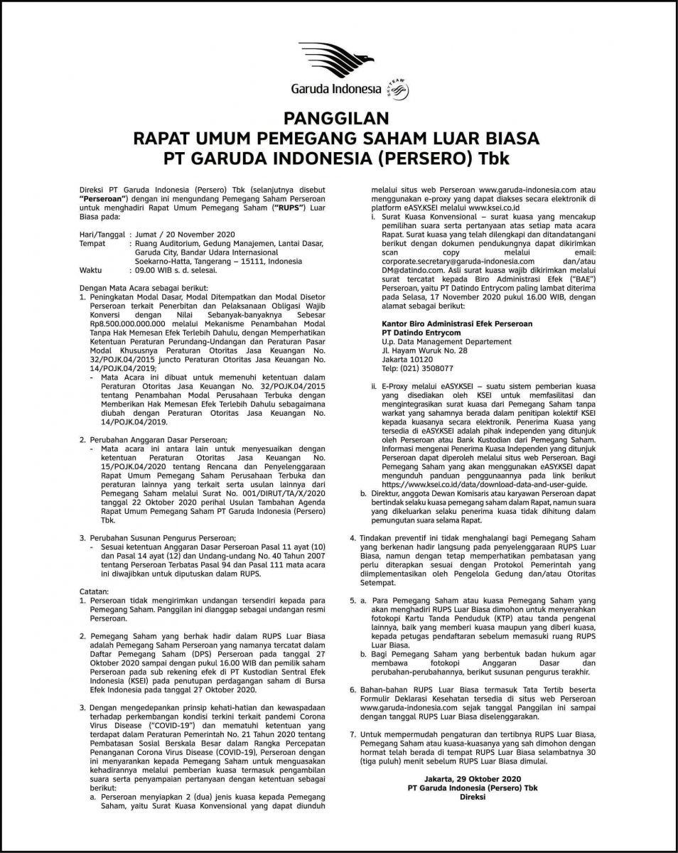 DOK GARUDA INDONESIA