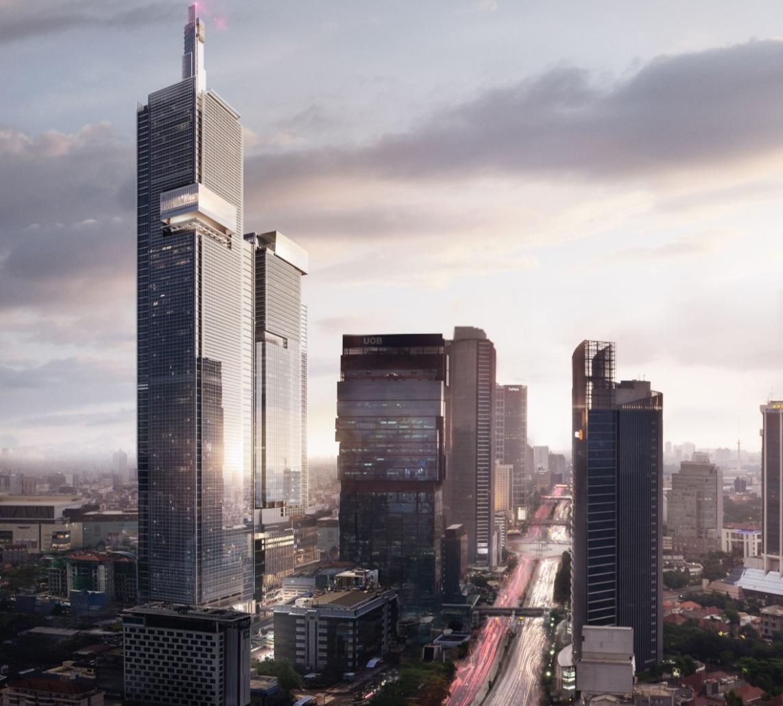 Thamrin Nine Diproyeksikan Miliki Gedung Tertinggi Di Indonesia