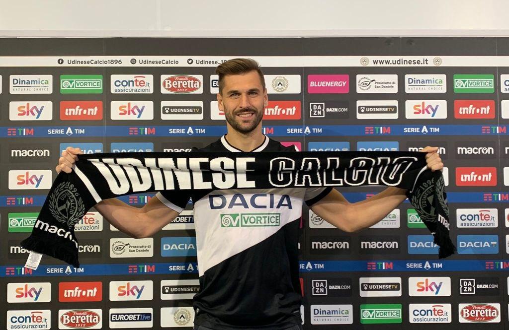 Striker Udinese, Llorente