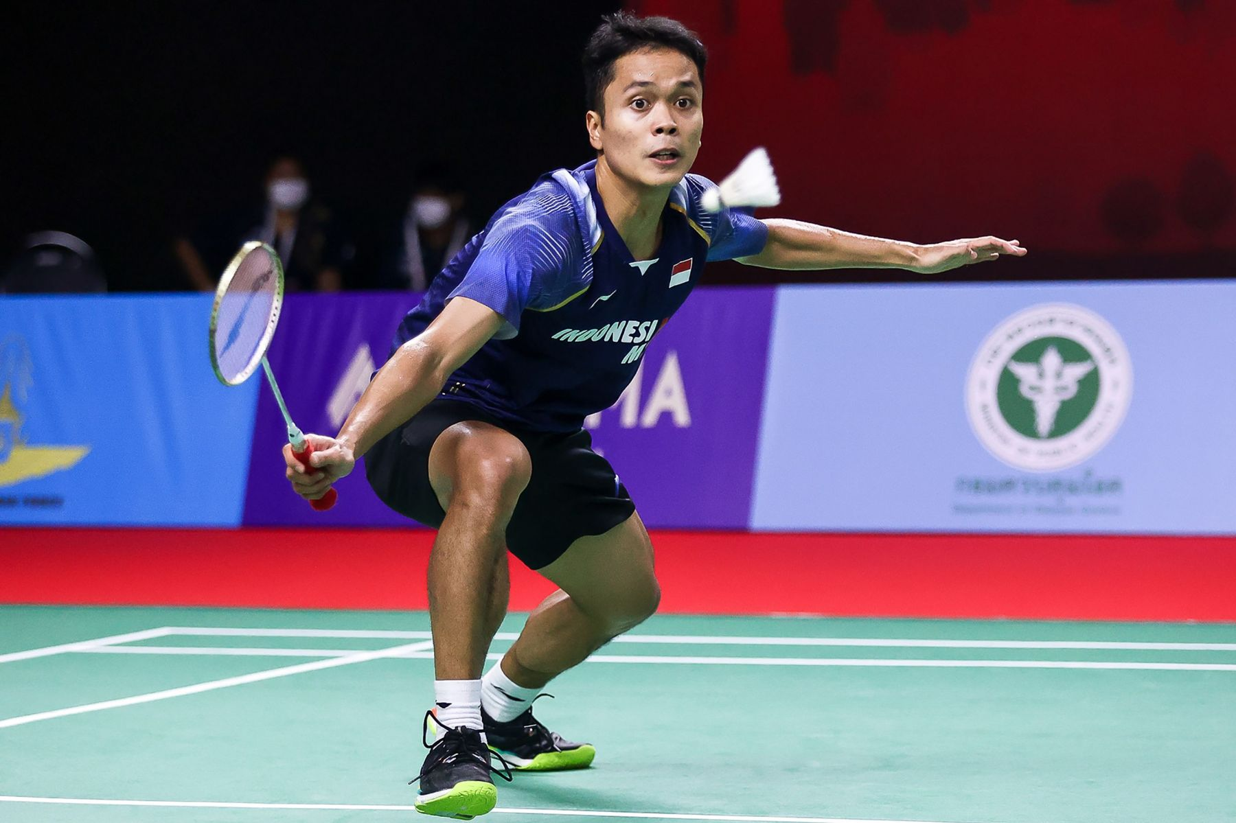 AFP/Handout Badminton Thailand