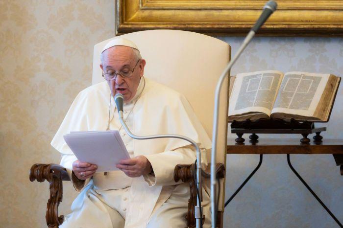 AFP/Handout Vatican Media