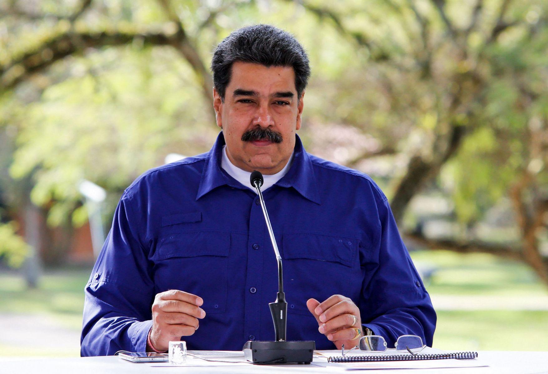 AFP/JHONN ZERPA / Venezuelan Presidency
