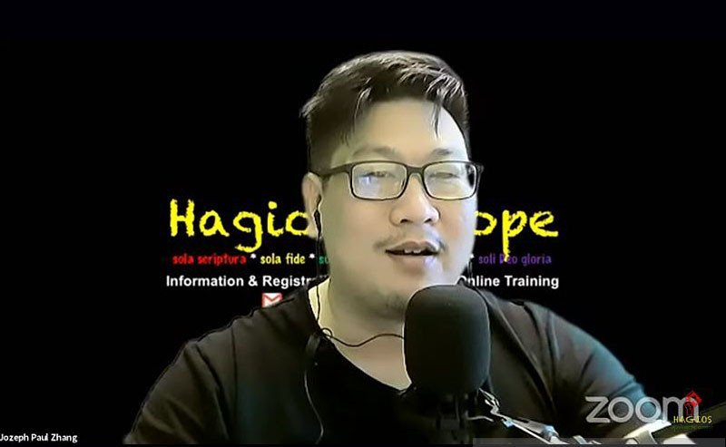 ANTARA/Tangkapan layar YouTube Joseph Paul Zhang/pri.
