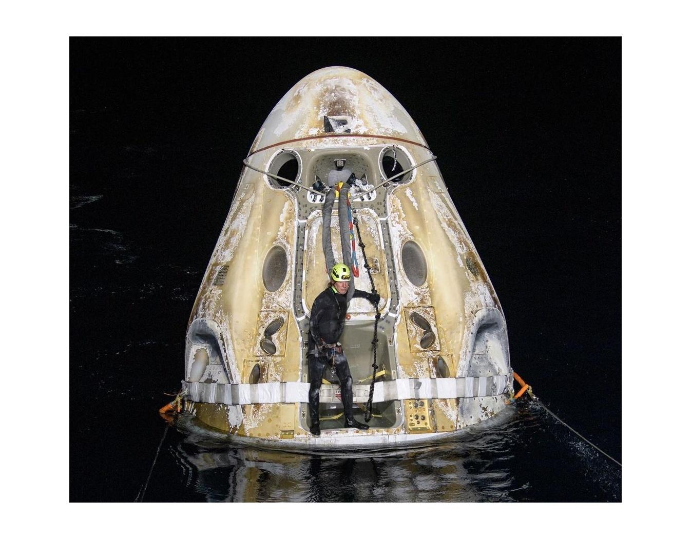 NASA/Bill Ingals