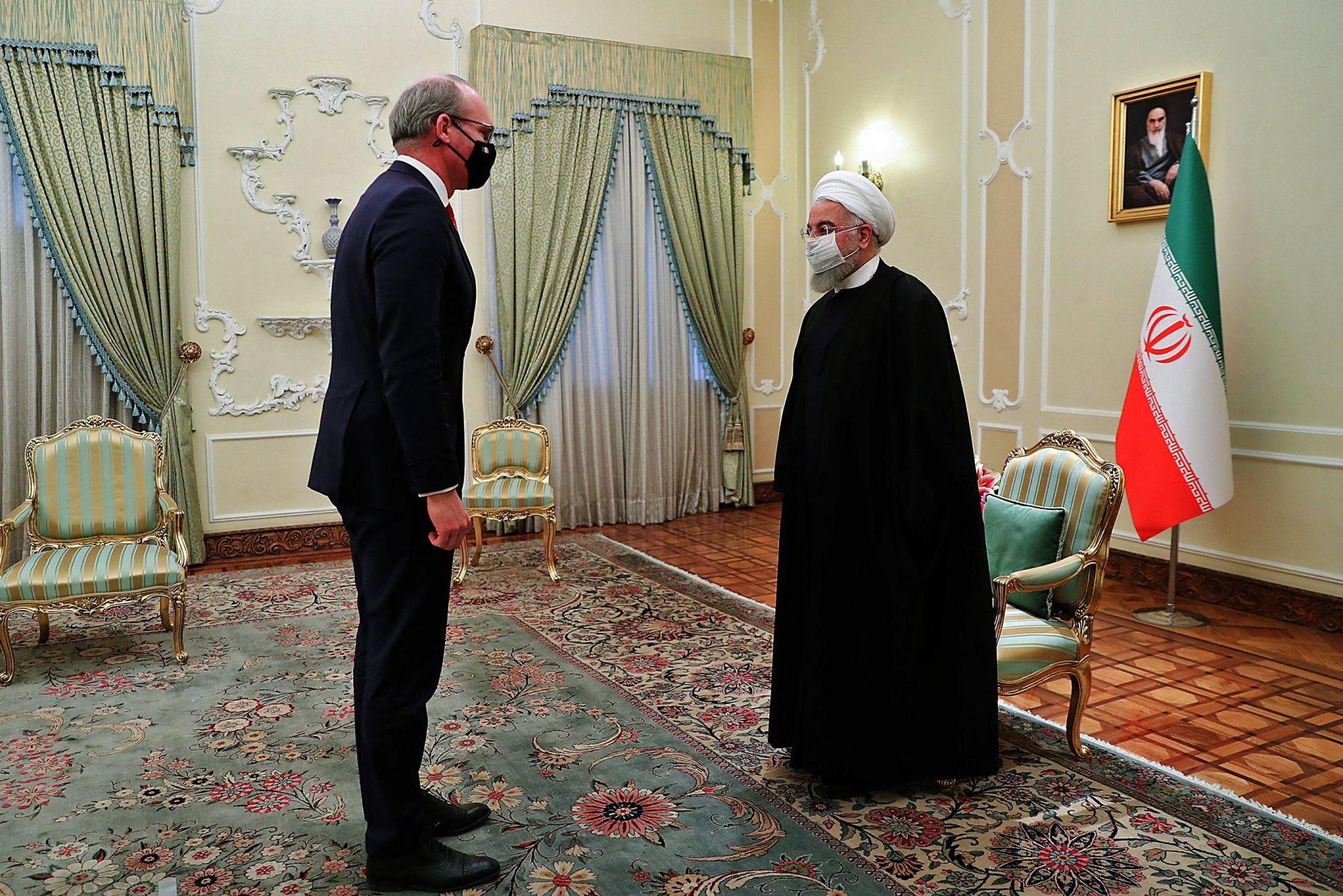 AFP/Iranian Presidency.