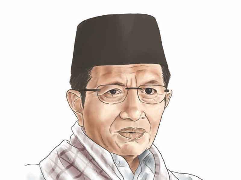 Nasaruddin Umar (Imam Besar Masjid Istiqlal). (MI/Seno)