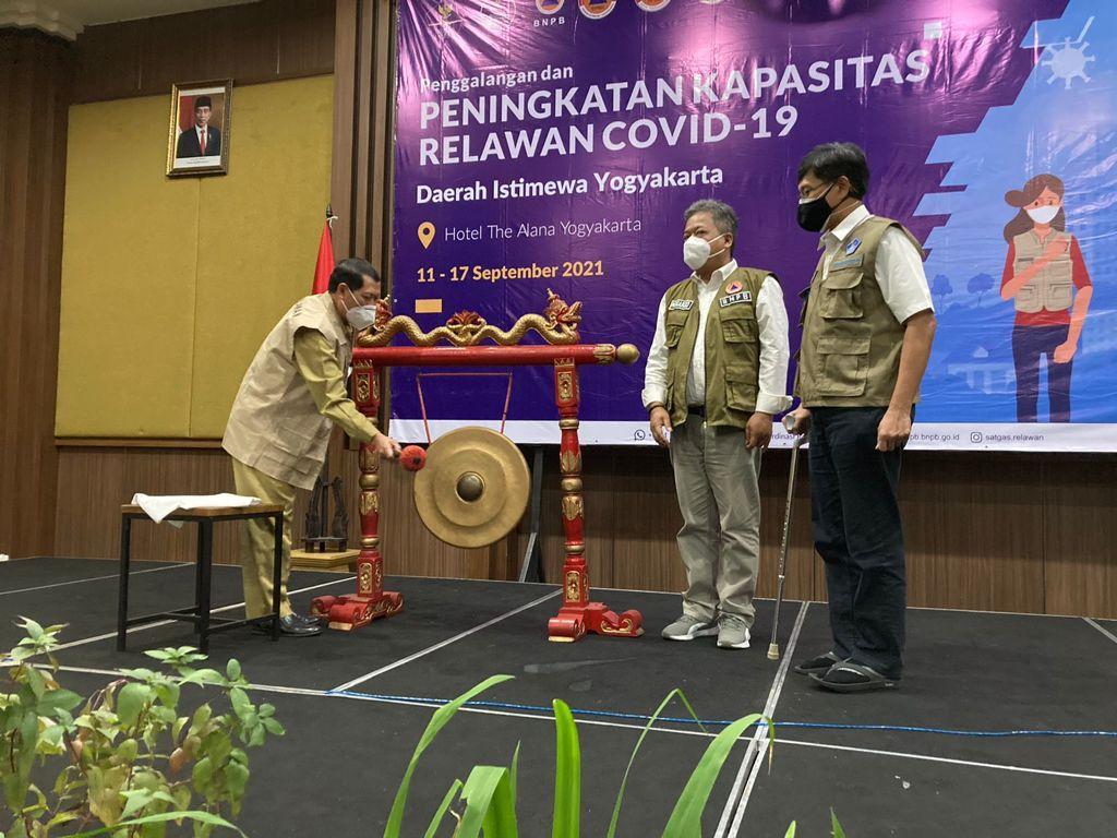Dok Bidang Koordinasi Relawan Satuan Tugas Penanganan COVID-19.