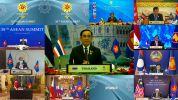 Handout / ASEAN Summit 2021 / AFP