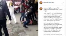 Viral Oknum Rombongan Moge Harley Davidson Keroyok Anggota TNI di Bukittinggi (Instagram/Ndorobeii)