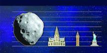 Asteroid Raksasa Lewati Bumi saat Natal