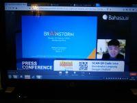 Dok Screen shoot konferensi virtual Bahasa.ai