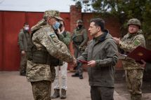 AFP/UKRAINIAN PRESIDENTIAL PRESS SERVICE