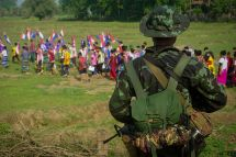 HANDOUT / KNU Dooplaya District / AFP