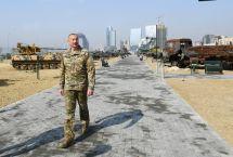 Handout / Azerbaijani Presidential Press Office / AFP