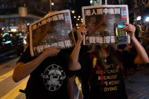 AFP/Bertha WANG