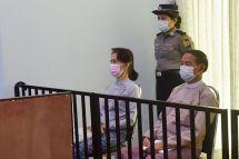AFP/Handout / MYANMAR MINISTRY OF INFORMATION