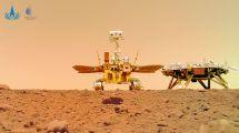HANDOUT / China National Space Administration (CNSA) / AFP