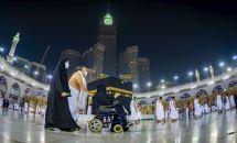 AFP/Handout Kementerian Haji dan Umrah Arab Saudi
