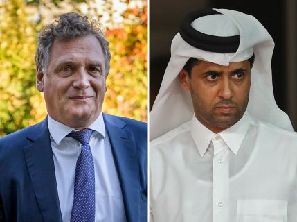 AFP/Fabrice COFFRINI and Karim JAAFAR