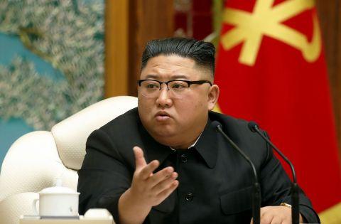 AFP/KCNA VIA KNS