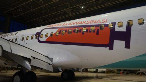 MI/Dok Garuda Indonesia