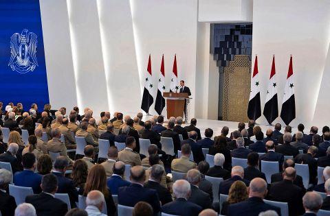 SYRIAN PRESIDENCY FACEBOOK PAGE / AFP