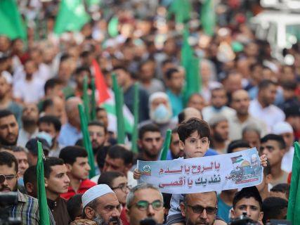 AFP/Mohammed Abed.
