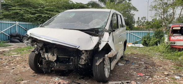 Hanafi Rais Luka Berat Kecelakaan di Cipali