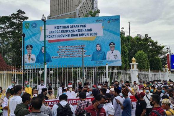 45 Ormas di Riau Deklarasi Tolak Rizieq Shihab
