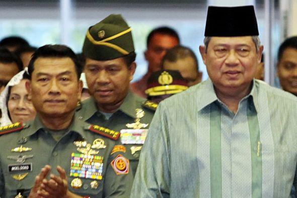 Pandangan Moeldoko terhadap SBY