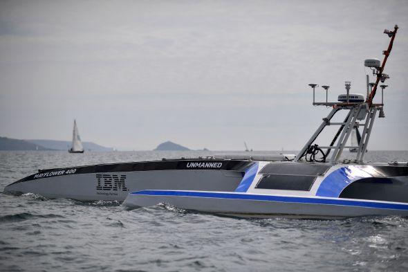Kapal Pintar Otonom Pertama di Dunia ini Siap Mengarungi Samudera
