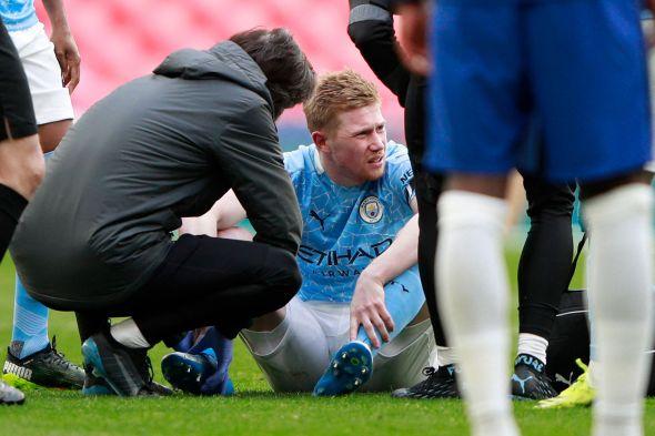 Guardiola Akui Cedera De Bruyne Mengkhawatirkan