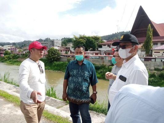 Antisiapasi Banjir, Tarutung Bebenah Beberapa Titik Drainase