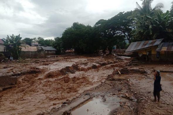 Banjir juga Melanda Kabupaten Malaka NTT