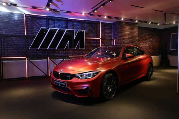 Bmw M4 Coupe >> Bmw Indonesia Luncurkan Dua Unit M4 Coupe M Competition Package