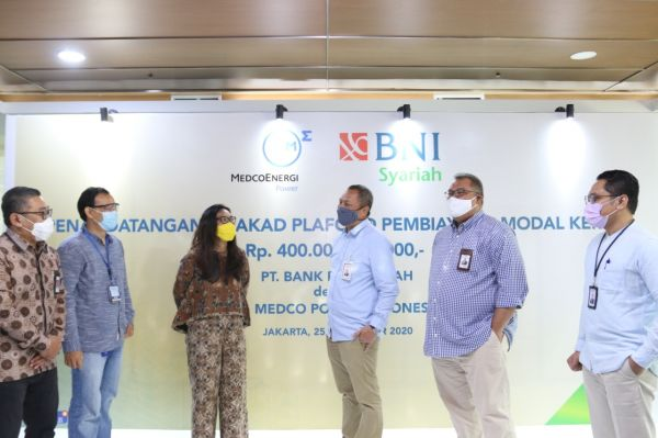 BNI Syariah Salurkan Pembiayaan Rp400 Miliar untuk Medco Power