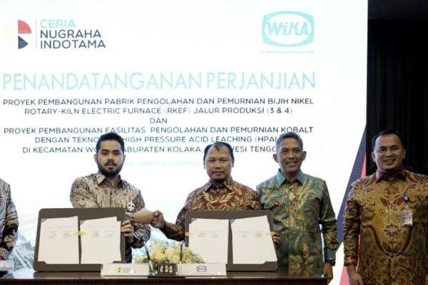Wika-CNI Kolaborasi Bangun Industri Smelter di Kolaka