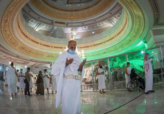 AFP/STR-Saudi Ministry of Hajj and Umra