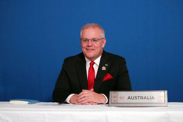 Adam TAYLOR / PRIME MINISTER OFFICE AUSTRALIA / AFP