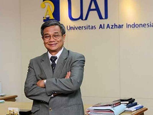 Asep Saefuddin Rektor Universitas Al Azhar Indonesia, Guru Besar IPB University