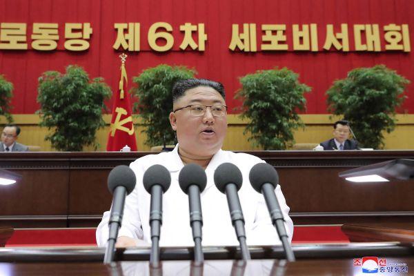 STR / KCNA VIA KNS / AFP