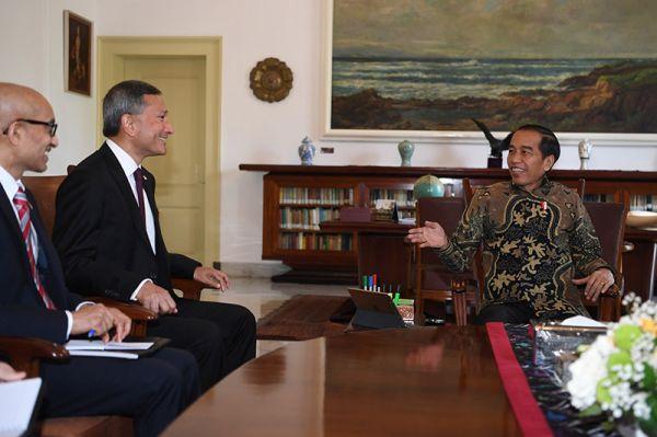 kunjungan Menteri Luar Negeri Singapura