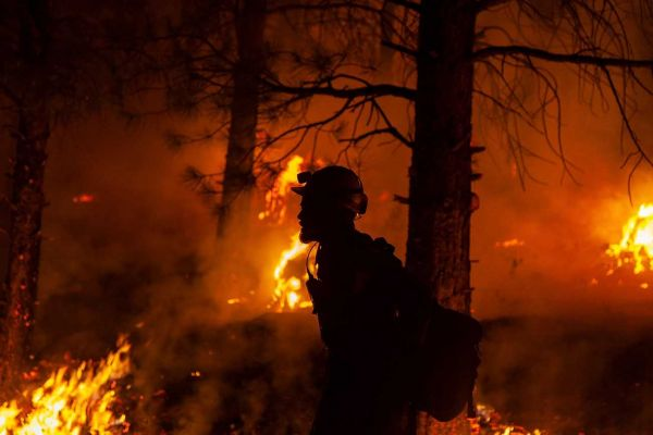 AFP/Oregon Department of Forestry/Bro