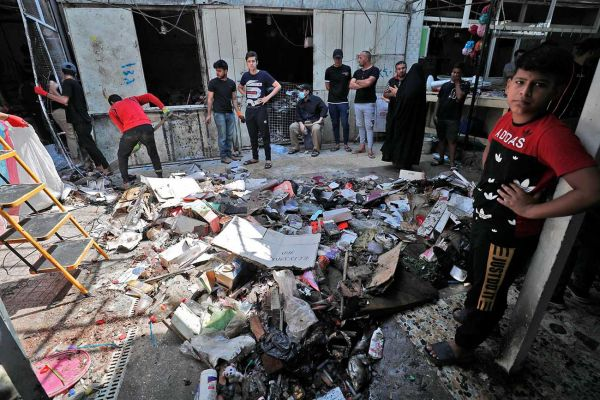 AFP/AHMAD AL-RUBAYE/Bro