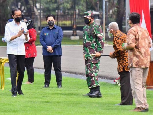 DOK Istana Kepresidenan/Agus Suparto
