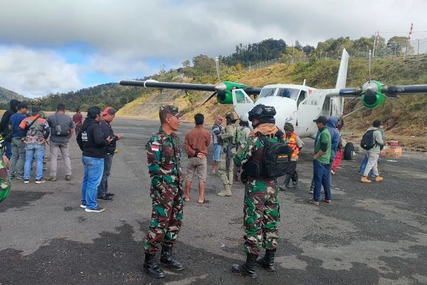 AFP/BASARNAS/ANTARA/Dok Humas Polda Papua/Bro