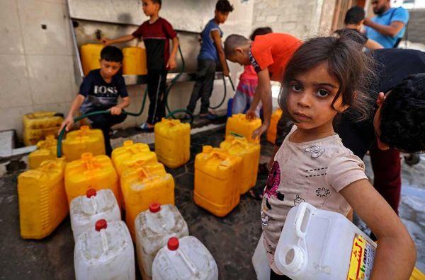 AFP/MAHMUD HAMS/Bro